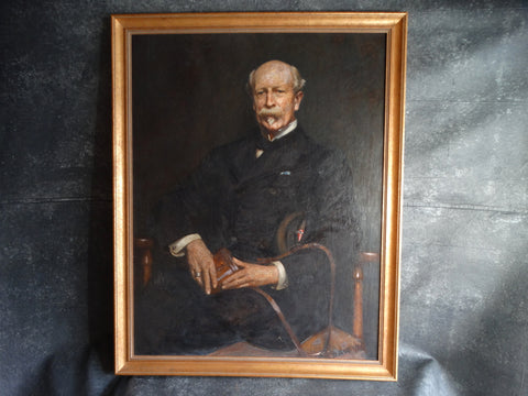 Portrait of Robert Taylor Pritchett by Daniel Albert Wehrschmidt RA 1899