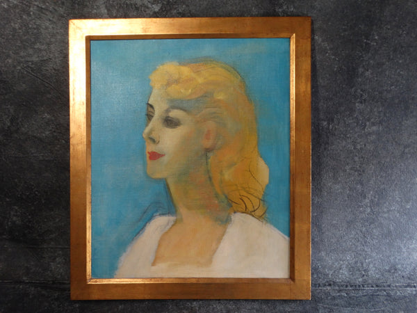 Channing Peake - Portrait - My Beautiful Linda 1959 - Oil on Canvas P2605
