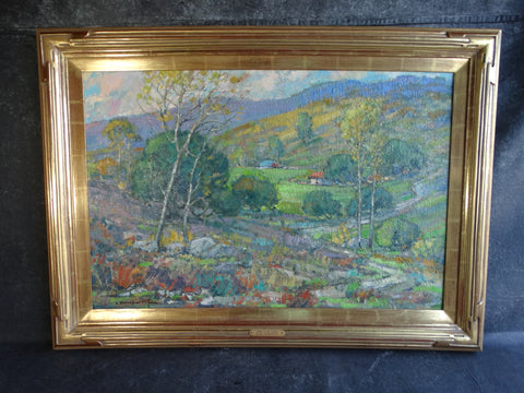 Karl Dempwolf - Morn in the Valley - Oil on Canvas -
