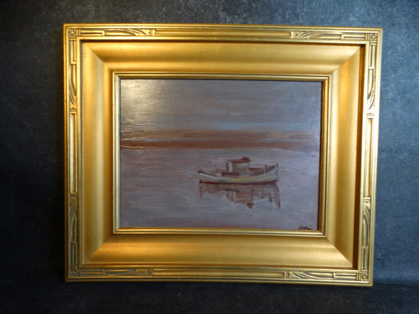 Anders Aldrin Tranquility c 1943 Oil on Board P2733