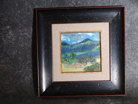 Dan Burgess - Miniature Mountain Landscape - 1980s P2753