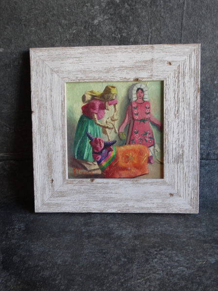 Alfonso Tirado Still Life of Doll and Bull P2829