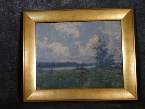 Charles Franklin Chamberlain (1871-1947) circa 1910s - Oil on Board P2849