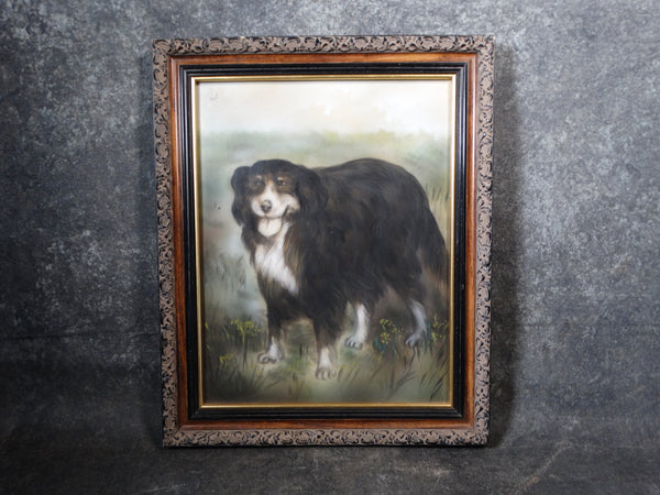 Unknown Artist - Painting of a Dog - Pastel - P2858