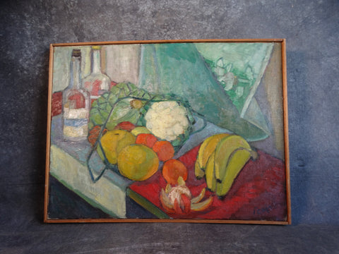 Marie Cofalka - Still Life Oil on Canvas P2859