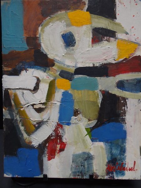Jae Carmichael 1925-2005 Abstract Person