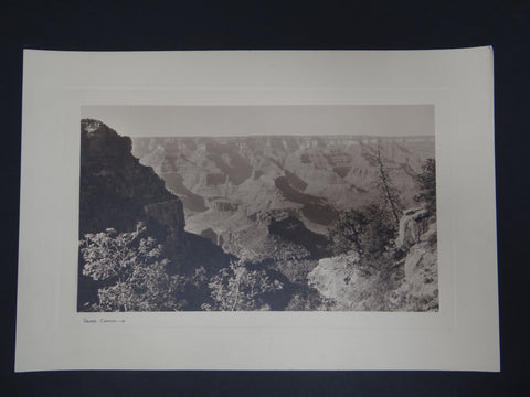 "Black and White Photograph ""Grand Canyon"""