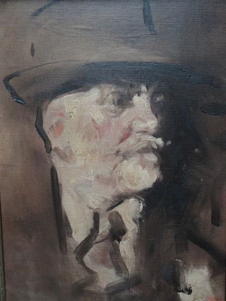 Will Foster Portrait of Paul Thalheimer, 1940s, Oil on Canvas