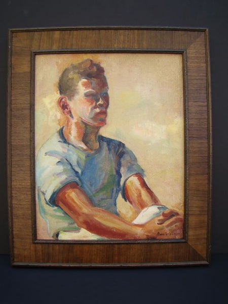 Ruth Danielson Davis: Portrait of a Man