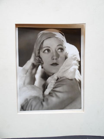 George Hurrell portrait of Marion Davies for MGM 1929