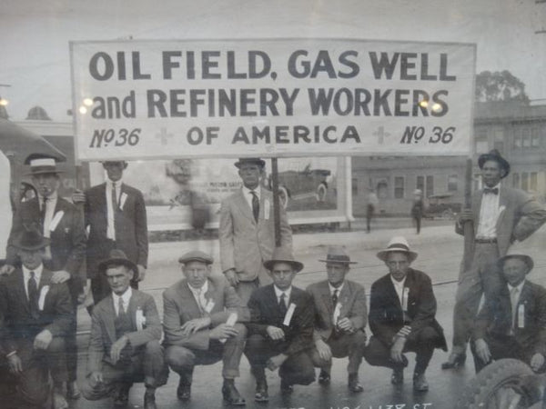 Oil Field Workers Photo