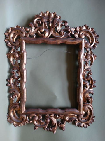 Spanish Colonial Ornate Wood Frame