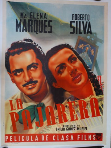 LA PAJARERA or The Birdhouse Original Mexican Movie Poster