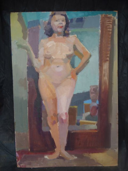 Albert J. Londraville: Female Nudes, two-sided