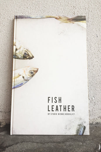 STUDIO NIENKE FISH LEATHER BOOK