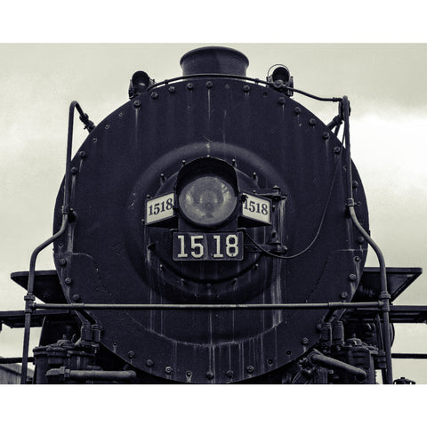 Sentinel - Steam Locomotive, Fine Art Print - Enzwell Artworks
