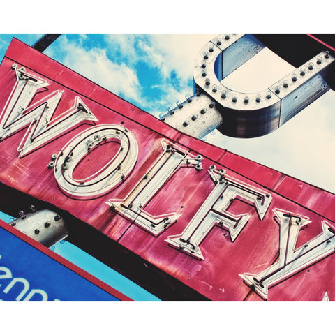 Wolfy's Hotdogs- Chicago, Fine Art Print - Enzwell Artworks