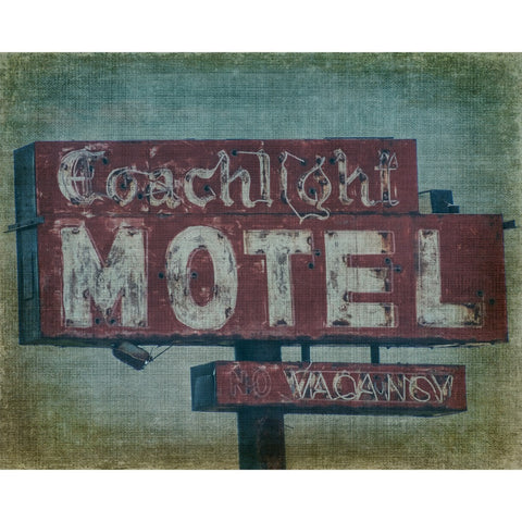Coachlight Motel - Chicago, Fine Art Print - Enzwell Artworks