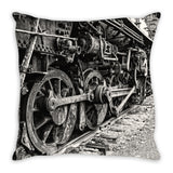Wheels of Progress Pillow Cover, Pillow Cover - Enzwell Artworks