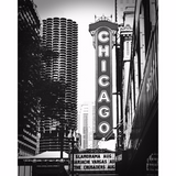 Chicago Theatre Sign, Fine Art Print - Enzwell Artworks
