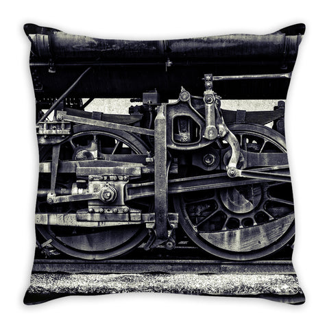 Wheels of Time Pillow Cover, Pillow Cover - Enzwell Artworks