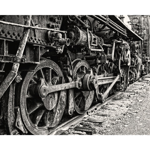 Wheels of Progress, Fine Art Print - Enzwell Artworks