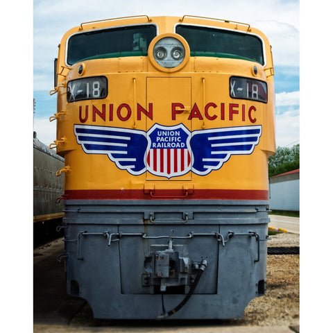 No. 18 - Trains, Fine Art Print - Enzwell Artworks