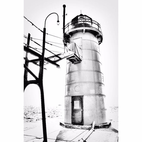 The Lighthouse - South Haven, Fine Art Print - Enzwell Artworks