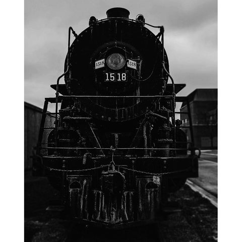 Vintage Locomotive - Steam Locomotive, Fine Art Print - Enzwell Artworks