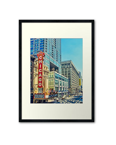 A Street in Chicago, Fine Art Print - Enzwell Artworks