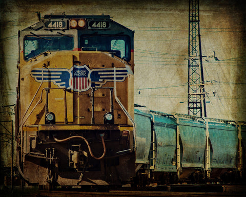 A Train to Chicago, Fine Art Print - Enzwell Artworks