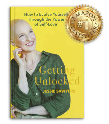 Getting Unlocked with Jessie Sawyers: How to Evolve Yourself Through The Power of Self-Love | Grab Your Copy of Our Founder's Book On Amazon!
