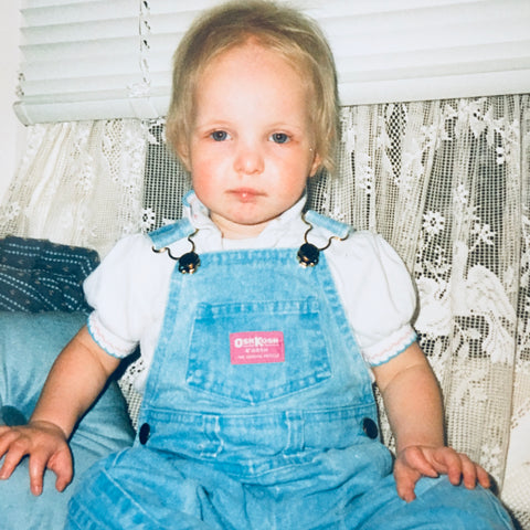 Jessie Sawyers, founder of Getting Unlocked, as a baby