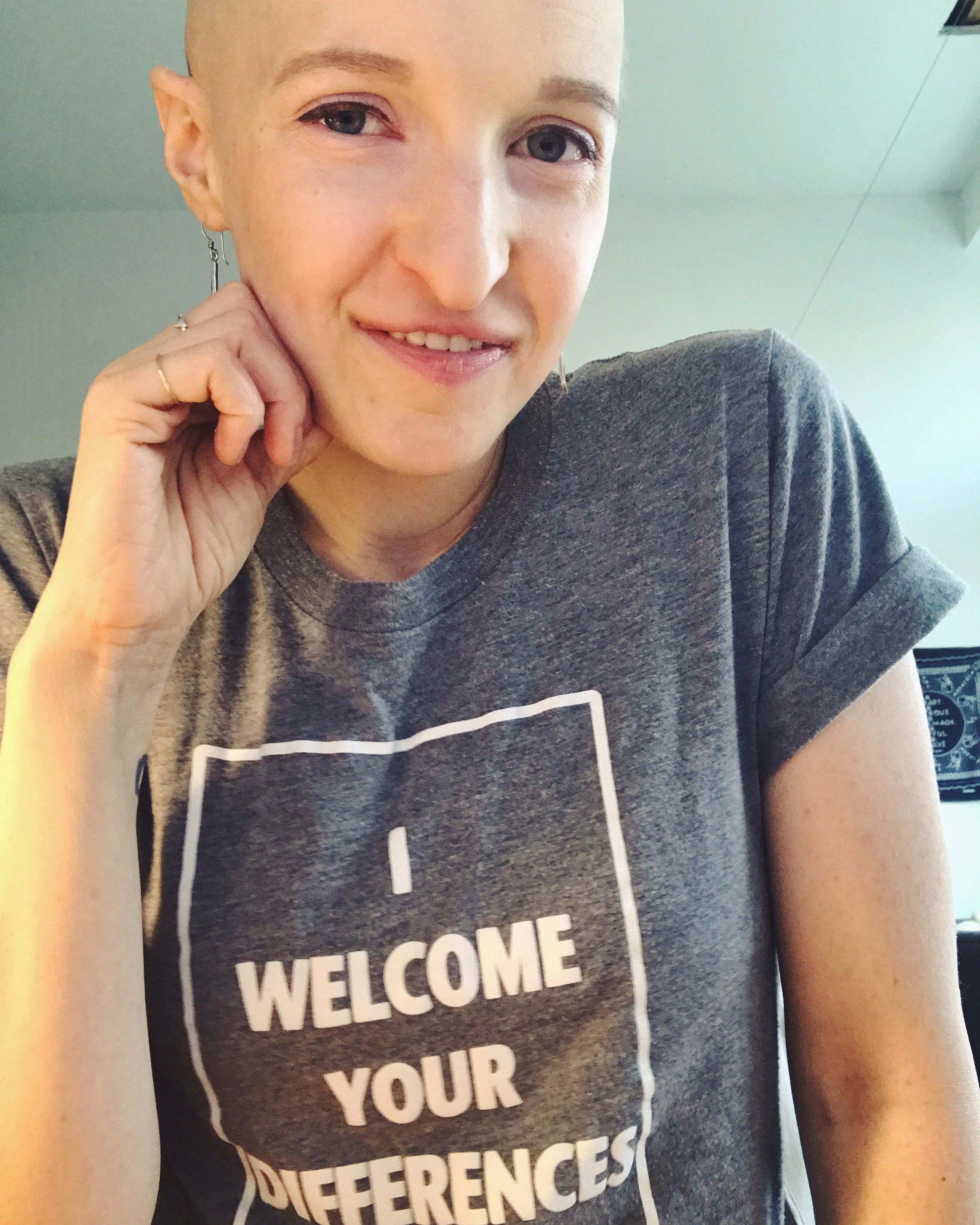 I WELCOME YOUR DIFFERENCES™ TEE - GREY