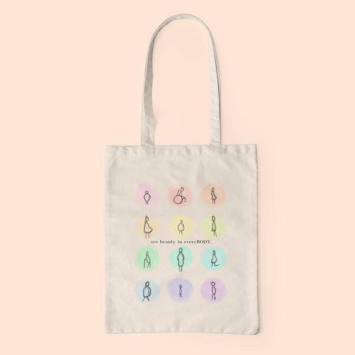 SEE BEAUTY IN EVERYBODY - ECO TOTE BAG
