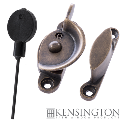 Luxury Forged Fitch Fastener Antique Brass
