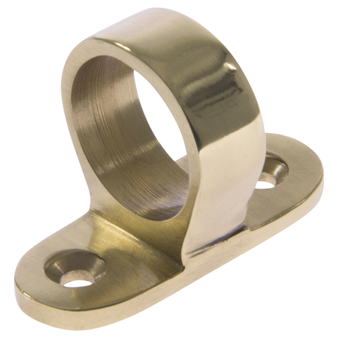 Sash Eye Polished Brass