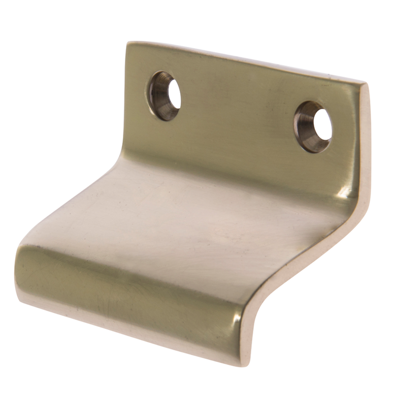 image of double hung sash window lift brass