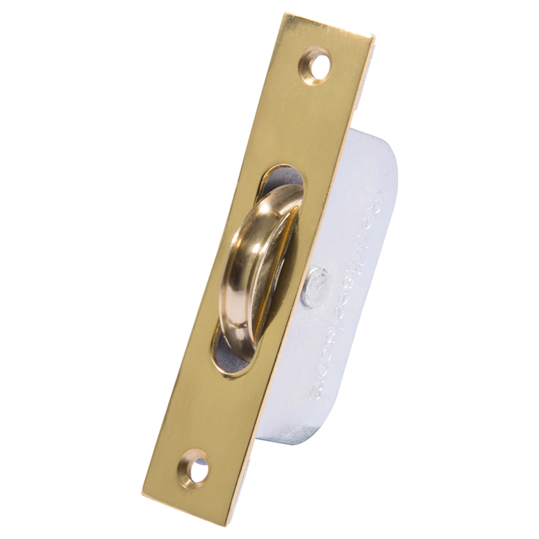 Polished Brass Sash Pulley Image
