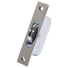 Polished Chrome Sqaure End Sash Pulley Image