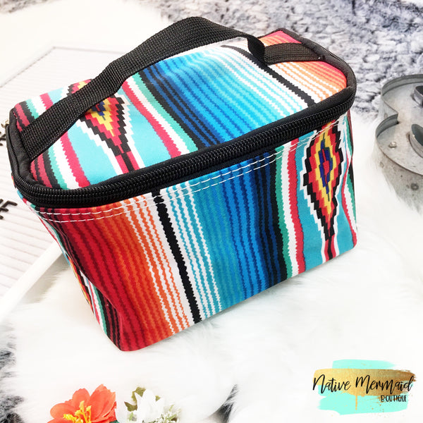 Serape Makeup Bag - Native Mermaid Boutique