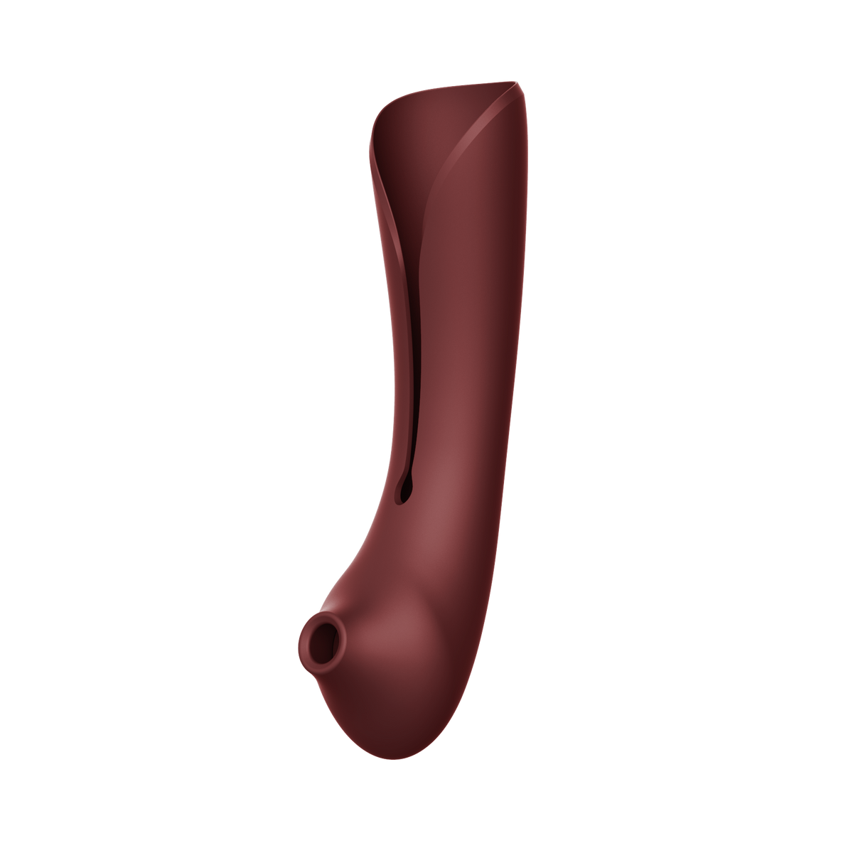 Queen Set G-spot PulseWave Vibrator with Suction Sleeve Wine Red