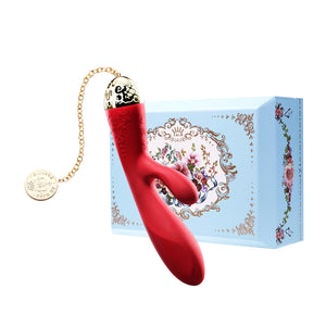 Rosalie Rabbit Vibrator Bright Red