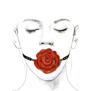 ZALO & UPKO Doll Designer Collection Rose Ball Gag