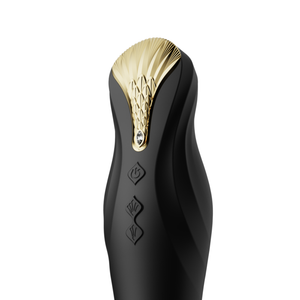 King Vibrating Thruster Obsidian Black
