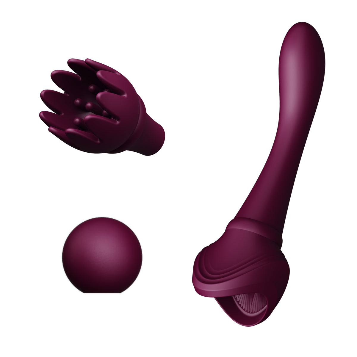 Bess Clitoral Massager Velvet Purple