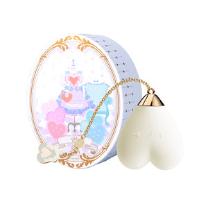 Baby Heart Personal Massager Vanilla White