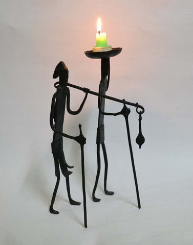 wrought iron Madiya mudiya Candle stand