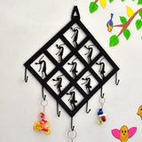 wrought iron 7 Hook Key Chain Holder