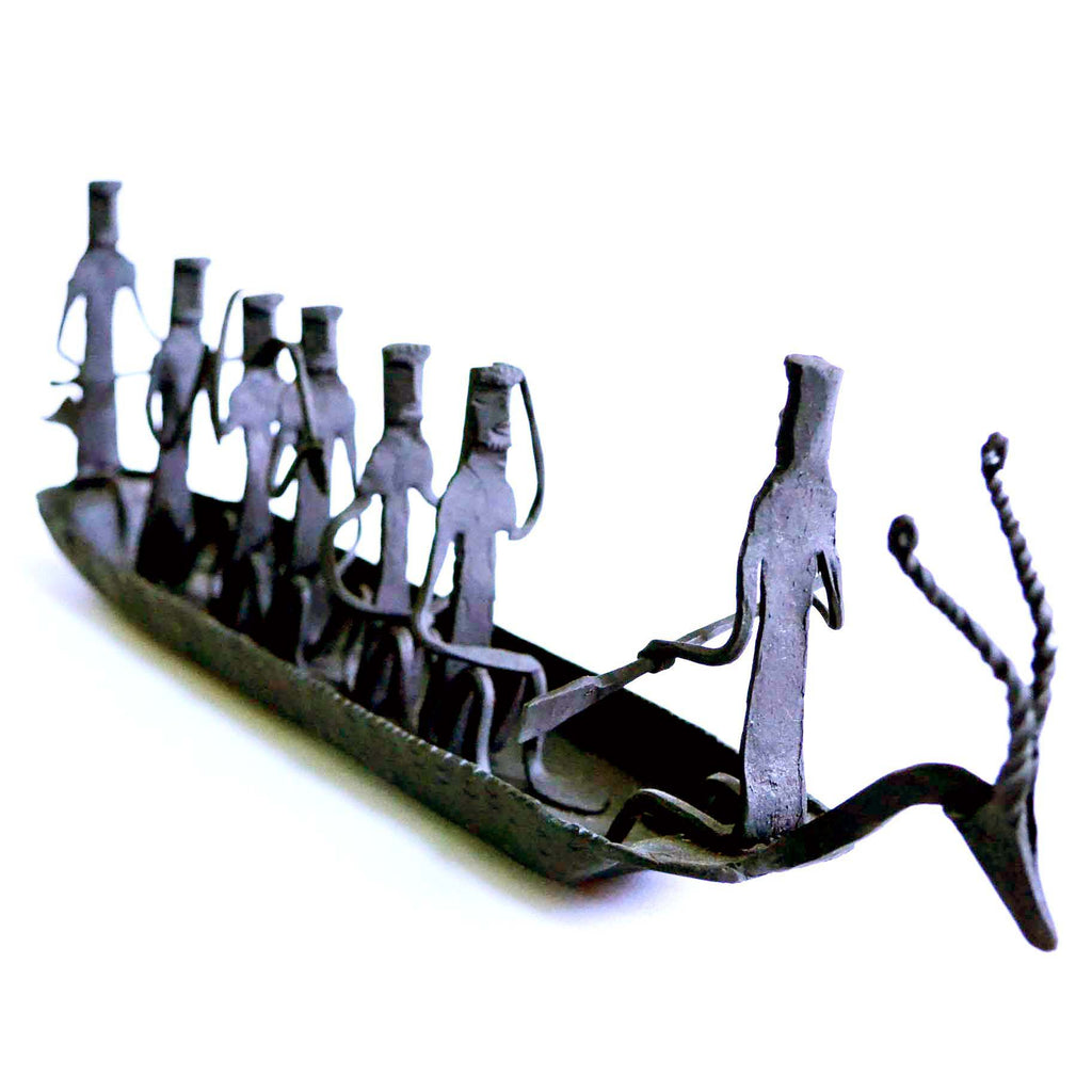 wrought iron kerela boat